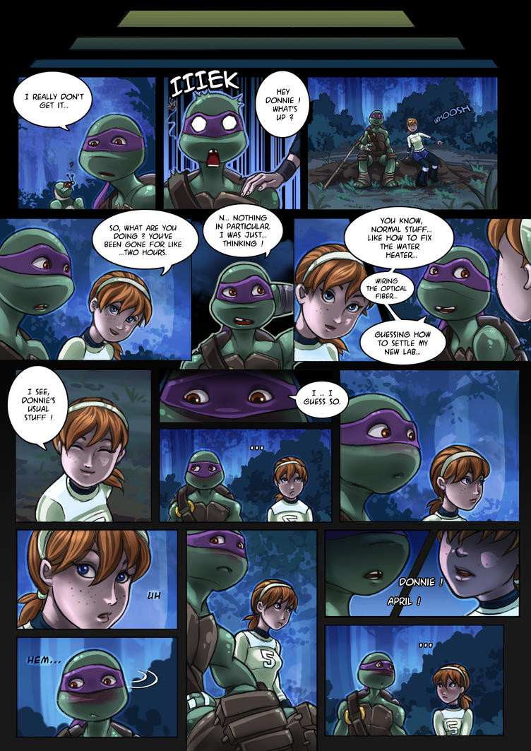 TMNT Comic Apritello I understand nothing 02 by clefchan