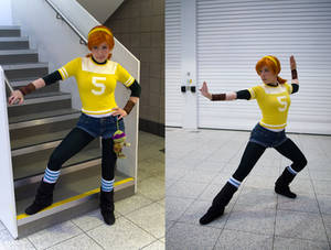 my april o'neil cosplay