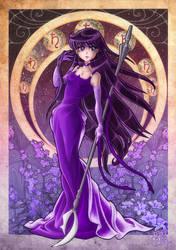 Adult Princess Saturn by clefchan
