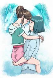 Spirited Away Chihiro x Haku