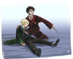 Draco Harry- Je ne voulais pas by clefchan