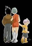 Vegeta Bulma Trunks: a family