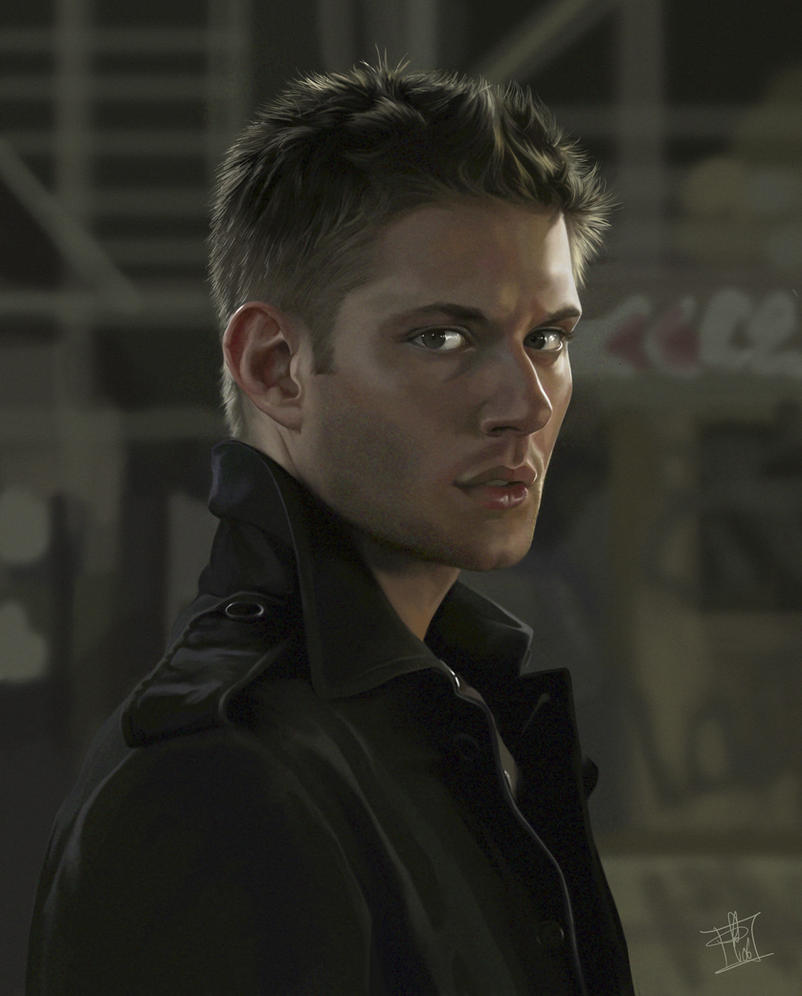 Dean Winchester Portrait by clefchan