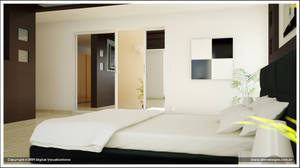 Dreamed Bedroom second render by diegoreales