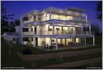 Exterior Building 1 - Night