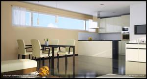 UV Building Kitchen Option 2