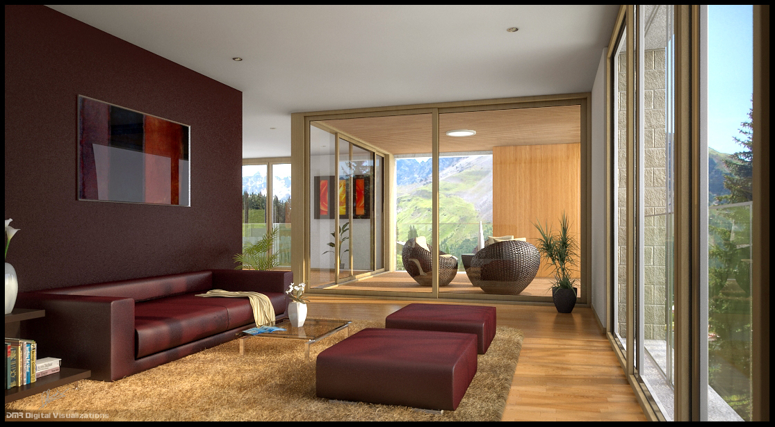 House Kern Interior Charrette
