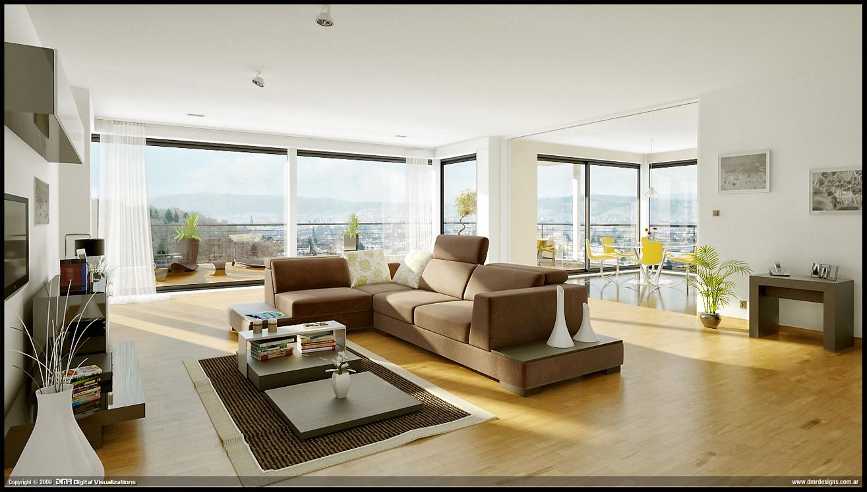 Terrasse Building - Living