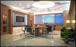 BPC Interior Office Render