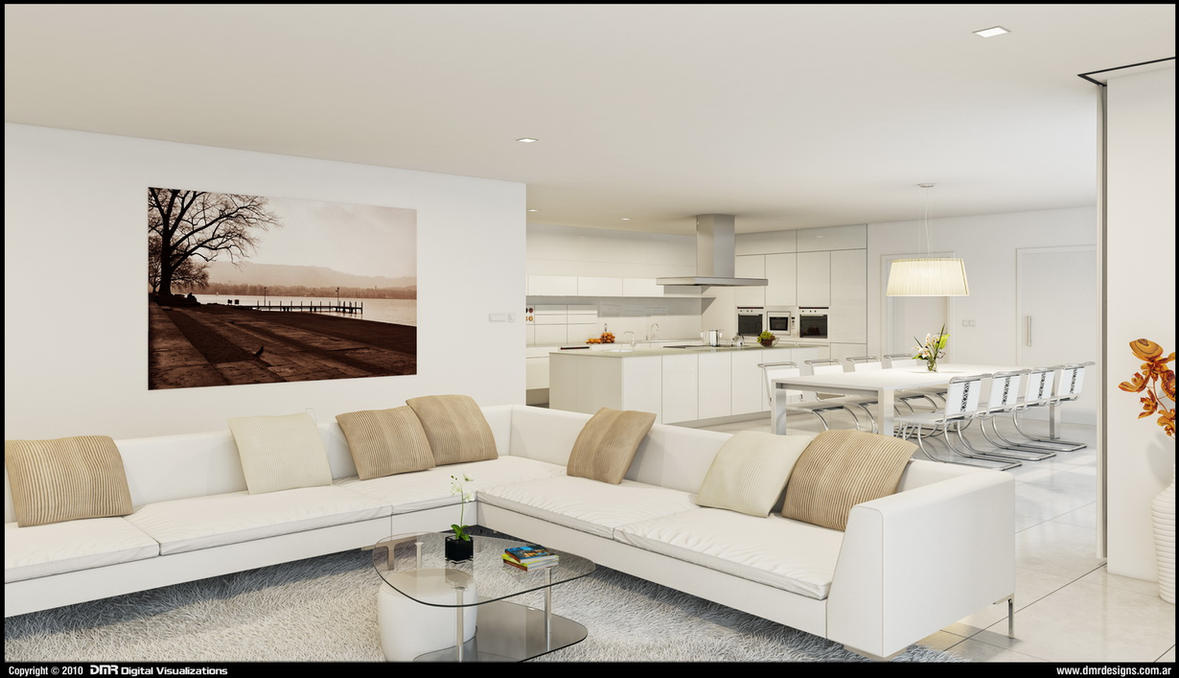 White Interior by diegoreales