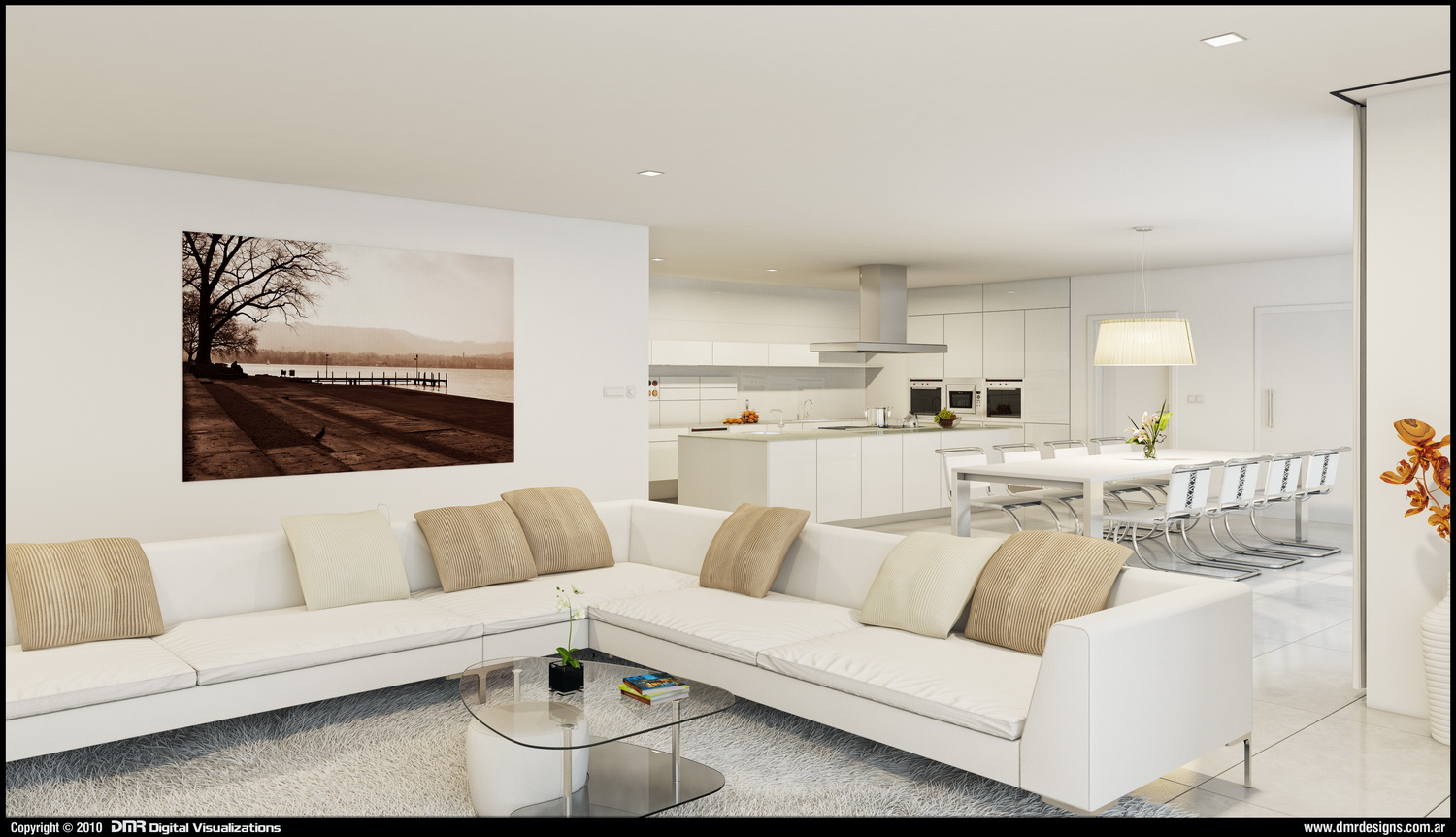 White Interior By Diegoreales White Interior By Diegoreales