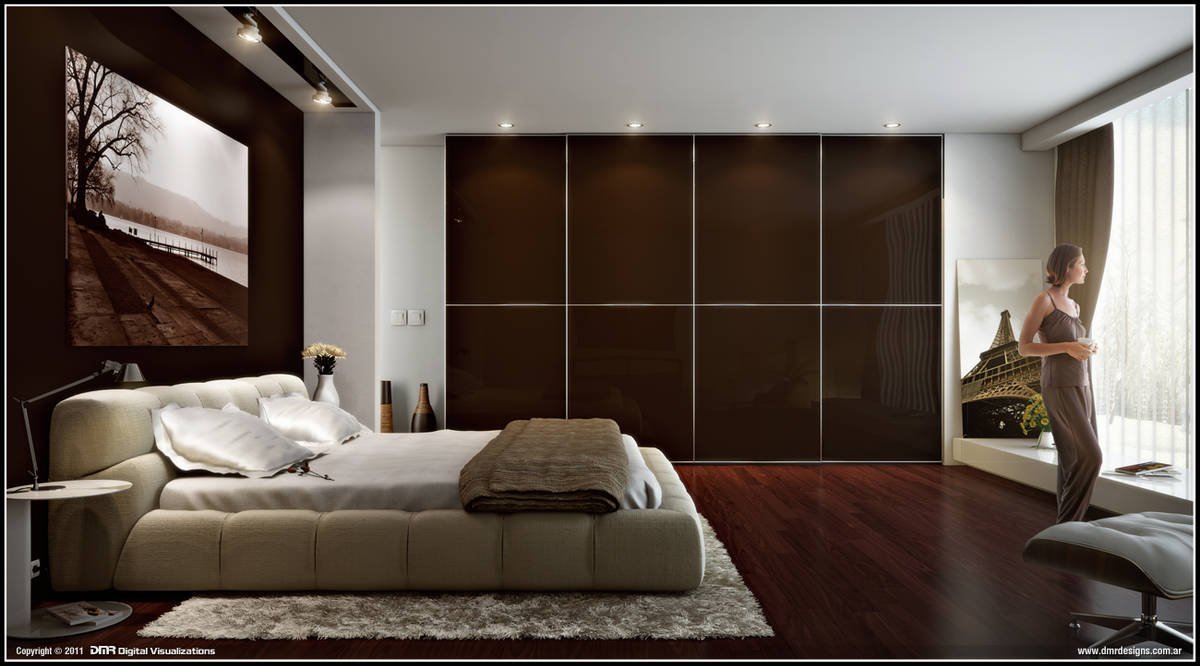 Bedroom by diegoreales
