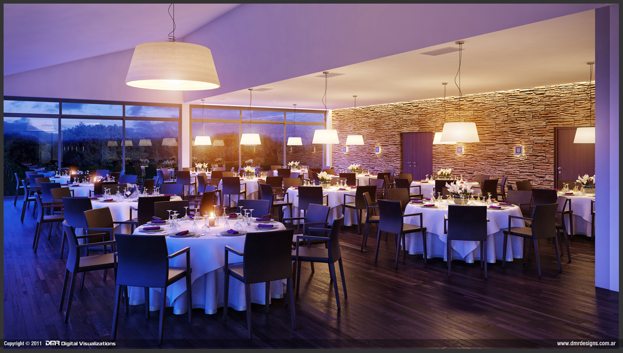 Golf Restaurant by diegoreales