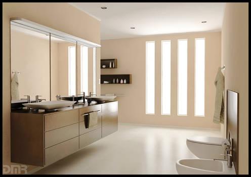 The dreamed bathroom