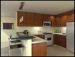 Kitchen by diegoreales