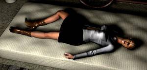 Unconscious in the cellar