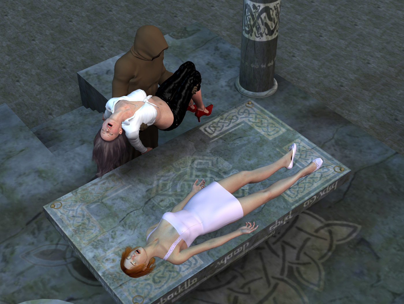 Young female human sacrifice erotic pictures