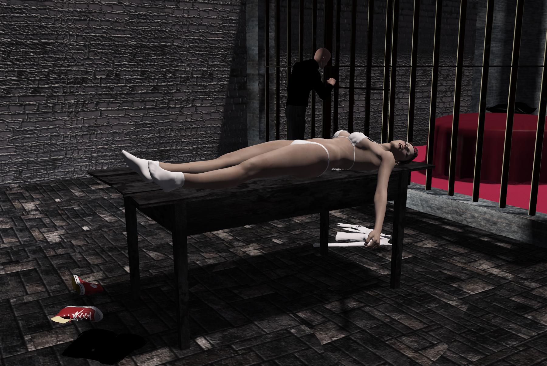 Kardashian unconcious woman stripped