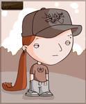 Me in cartoon