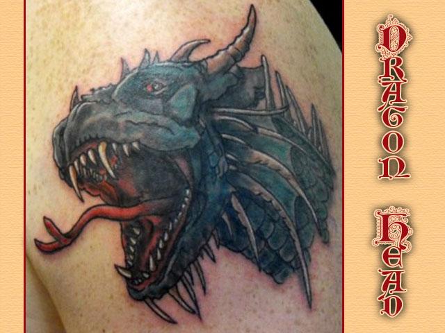 Dragonhead by toe-art