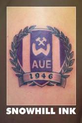 Wismut Aue Football Team Logo