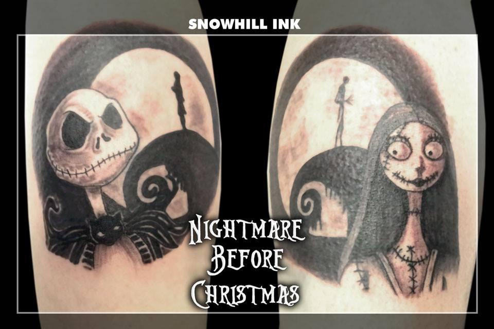 Nightmare Before Christmas by toe-art