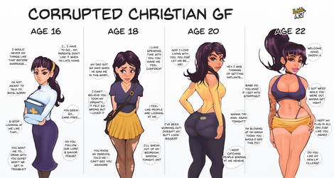 Corrupted Christian GF by ParkdaleArt