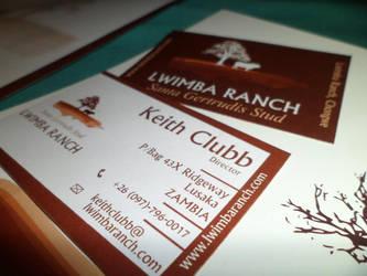 Business Card (Lwimba Ranch) by jestermaroc