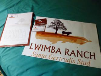 Logo, Letterhead, Business Cards (Lwimba Ranch) by jestermaroc