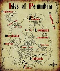 Isles of Penumbria by jestermaroc