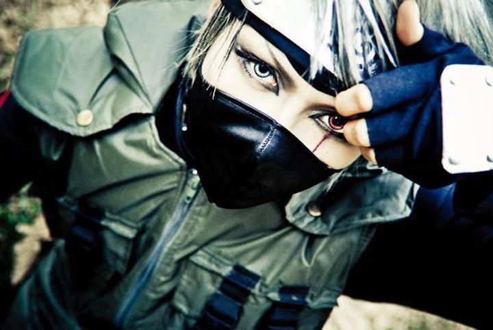 Kakashi cosplay by jfqp