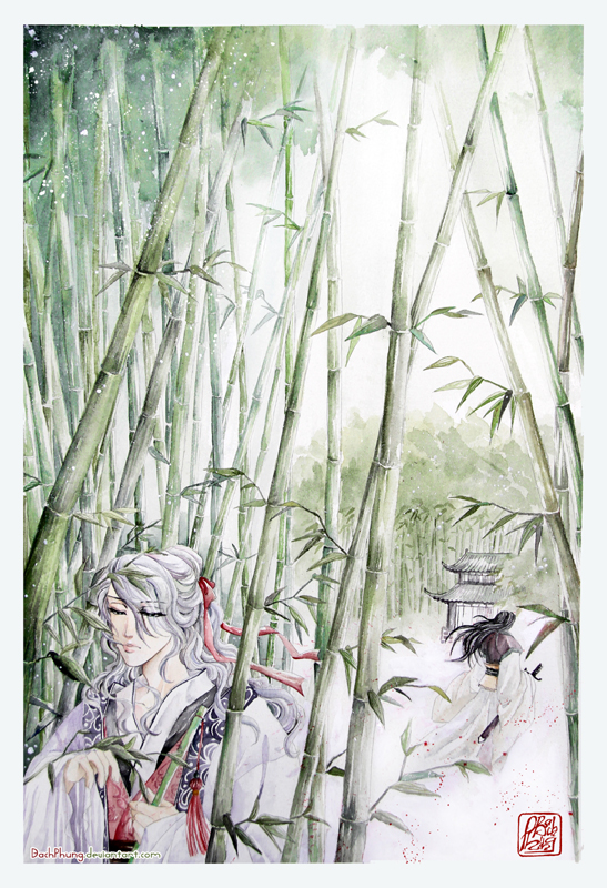 Story in Bamboo Forest by BachPhung