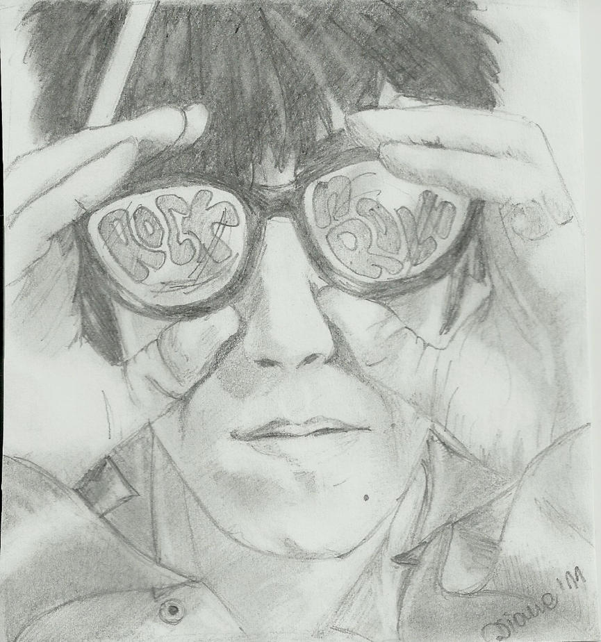Keith Richards by wycziluj