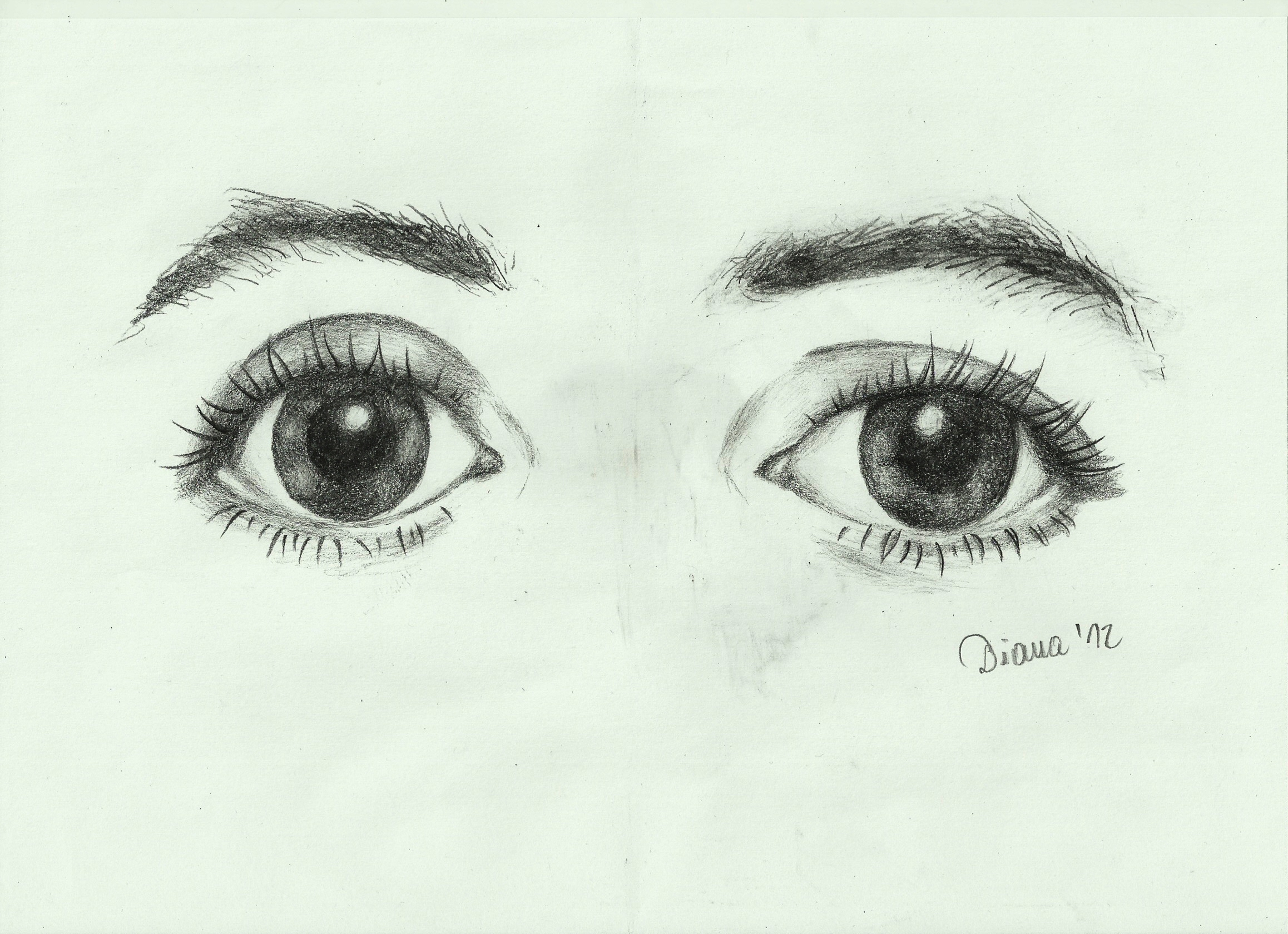 Paul McCartney's eyes by wycziluj
