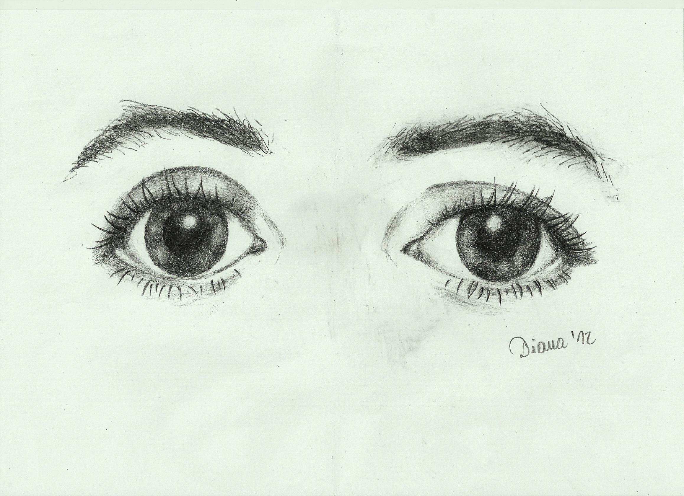 Paul McCartney's eyes by wycziluj