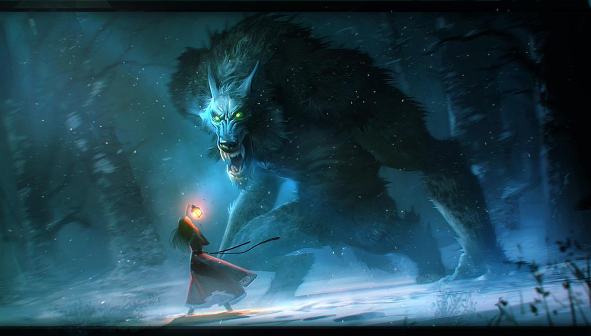 beast wolf wallpaper art - photo #5