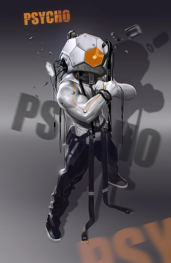 Psycho by Niconoff