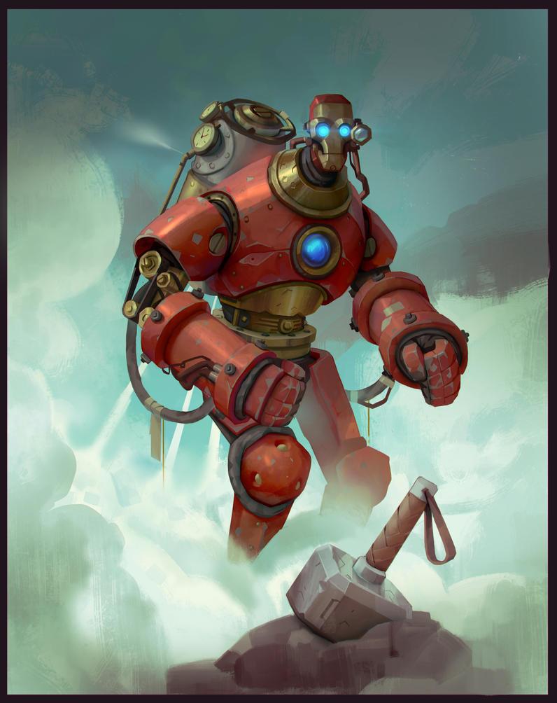Ironman Steampunk by Niconoff