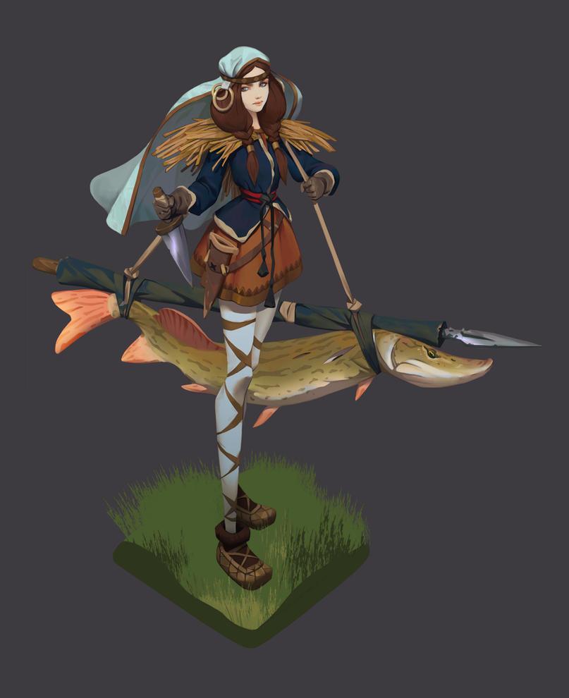 fishergirl by Niconoff