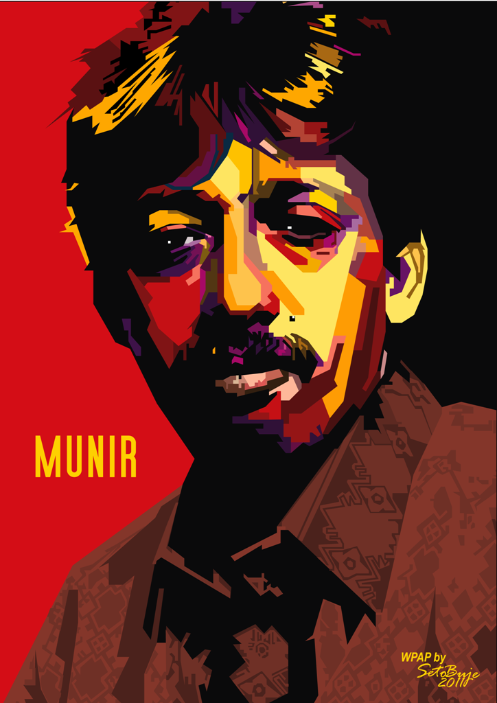 Munir in WPAP by setobuje