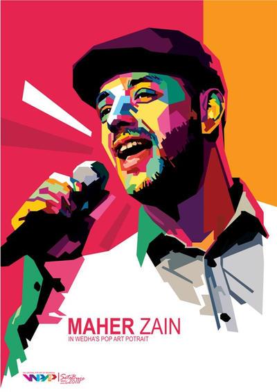 Maher Zain in WPAP by setobuje