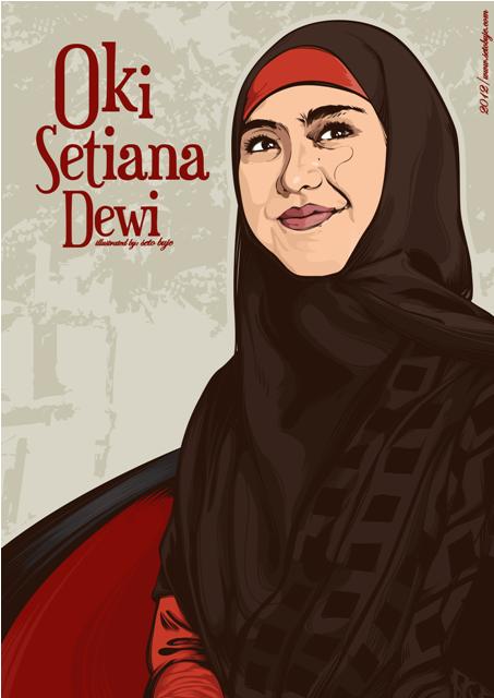 Oki Setiana Dewi by setobuje