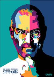 Steve Jobs in WPAP 2012 by setobuje