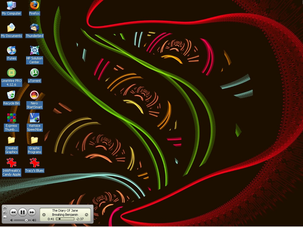 My Desktop 11-01-2008 by LyinRyan