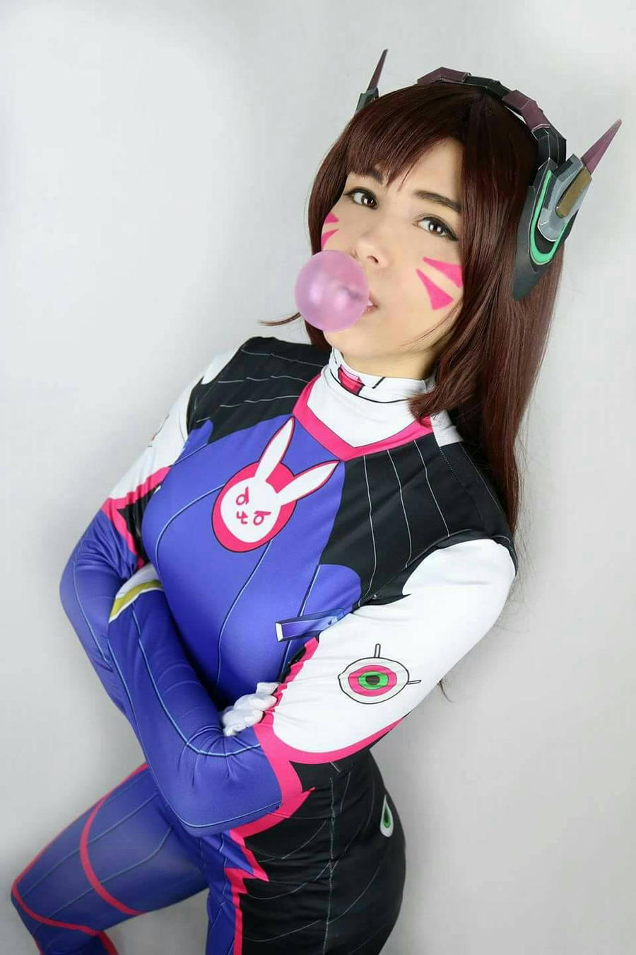 in d.va cosplay Vamplette