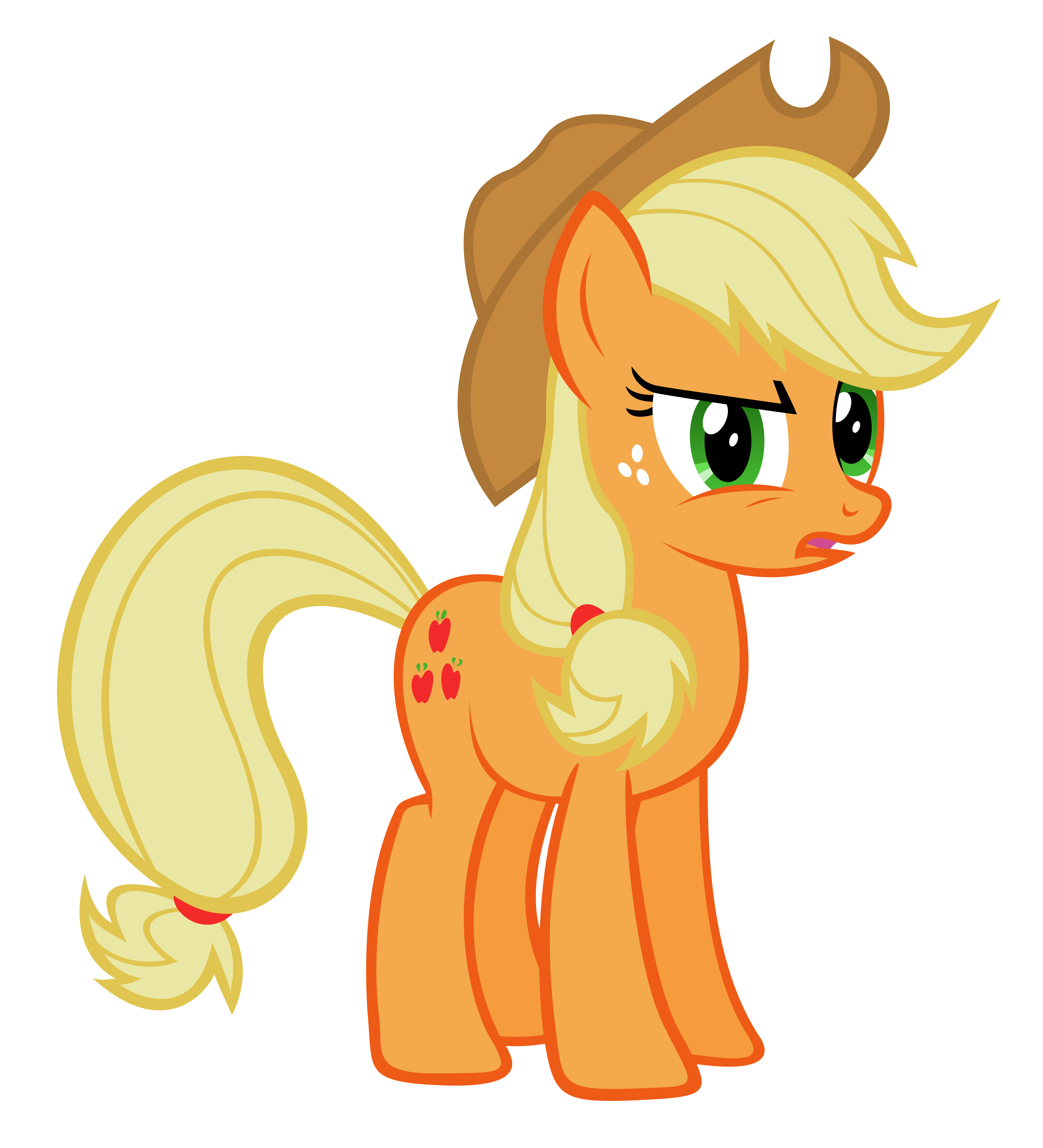 Da buk? Applejack by Really-unimportant