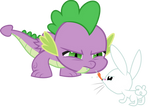 Spike and Angel