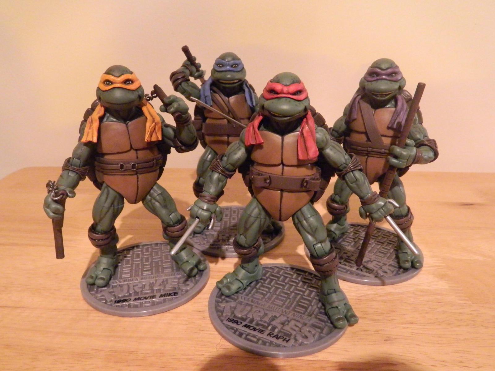 Tmnt Movie Toys : Tmnt custom movie figures by jodybriggs on deviantart