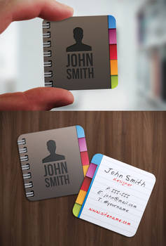 Contacts Iconic Business Card