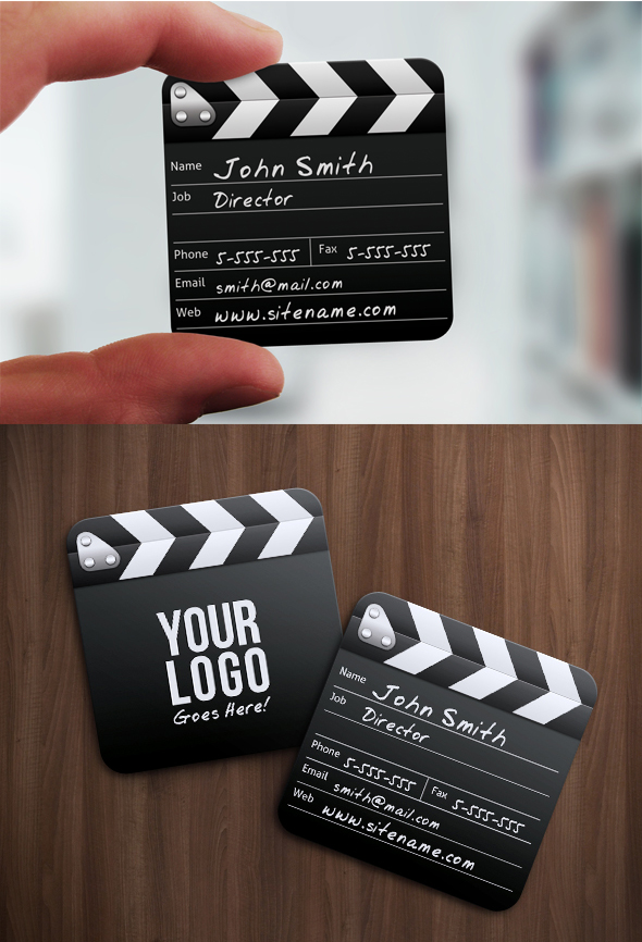 Movie Director Business Card by nexion218
